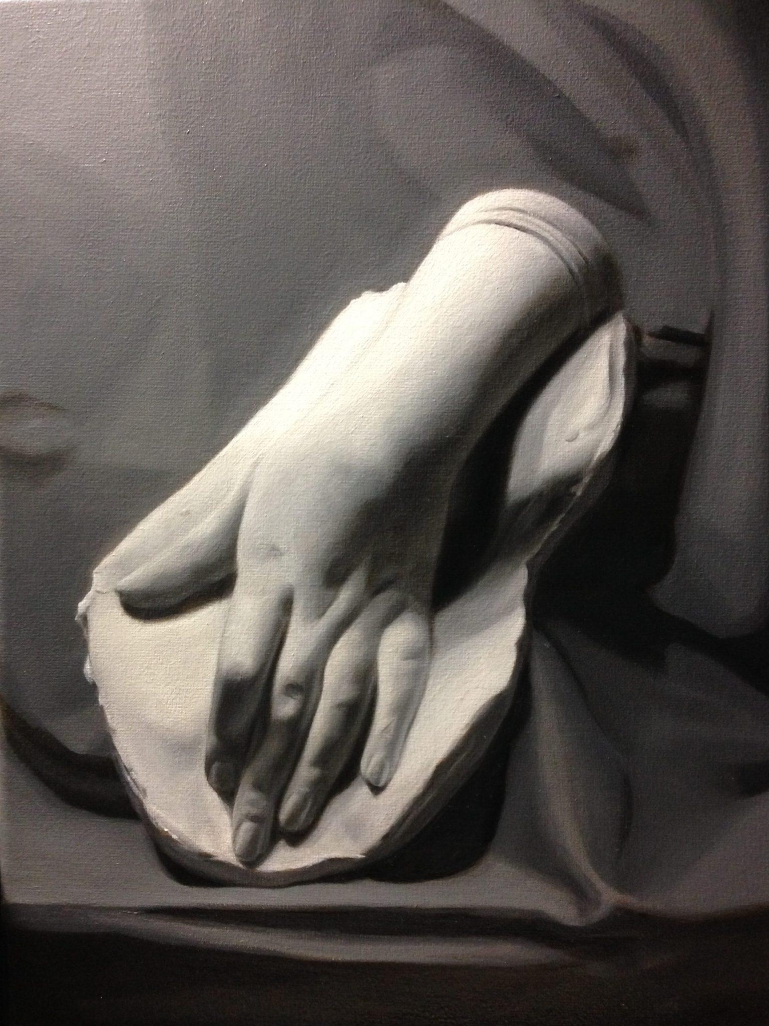 Gipsen hand