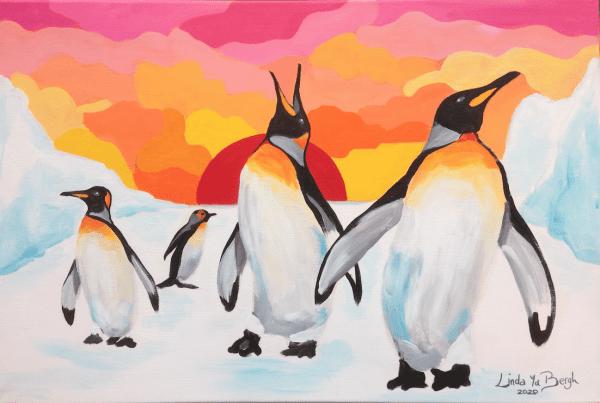 workshop pinguin pret in acryl