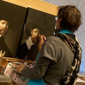 Masterclass Rembrandt in Amstelveen bij Art Studio Linda