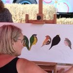 Workshop schilderen Art Studio Linda