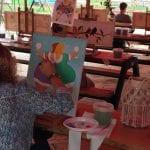 Workshop schilderen Art Studio Linda Amstelveen