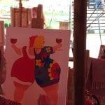 Workshop schilderen Amstelveen Art Studio Linda