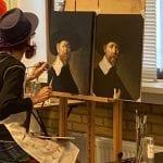 Masterclass Rembrandt bij Art Studio Linda Amstelveen