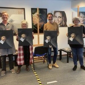 Schildercursus in Amstelveen bij Artstudio linda