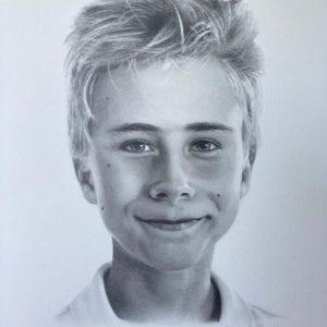 Portret leren tekenen Amstelveen Uithoorn Aalsmeer artstudio linda