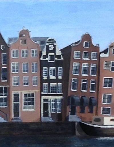 Werk van onze cursisten artstudio linda Amstelveen